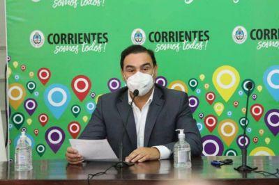 Valdés anunció que Capital y Paso de los Libres vuelven a Fase 5