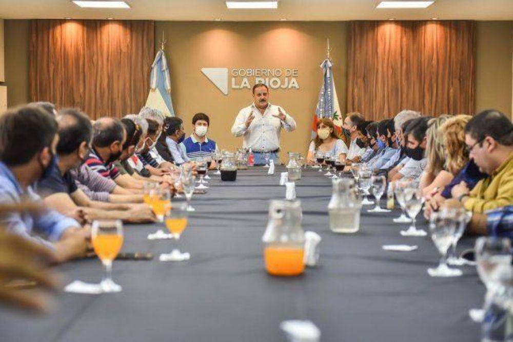 La Rioja: El STIA se reunió con Quintela para analizar la situación del empleo