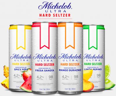 Michelob Ultra Hard Seltzer llega para quitar mercado a Pura Piraña
