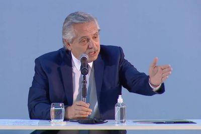 En su reaparición, el presidente Alberto Fernández criticó a la oposición y evitó hablar de Venezuela y Boudou