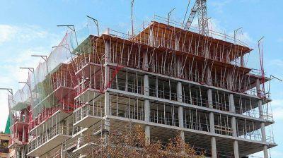 La construcción creció 8,9% respecto a los los valores prepandemia