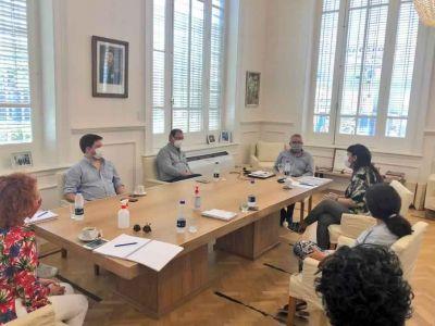 Julio Zamora se reunió con Fernanda Miño y acordaron avanzar en políticas habitacionales