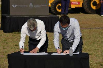 Watson, Meoni y Mussi anunciaron importantes obras viales para Florencio Varela
