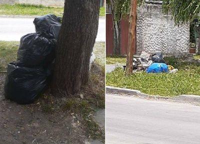 """Residuos en El Carmen: """"El barrio es un asco"""""""
