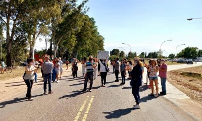 Manifestantes cortaron la calle a la altura de ABSA