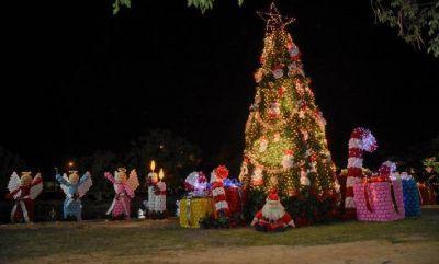 Expo Eco Navidad: exhiben en Resistencia adornos navideños realizados con material reciclado