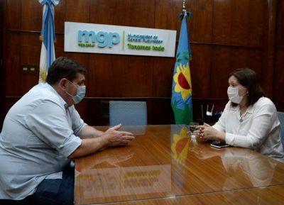 Montenegro logró acuerdos con Mercedes Morro y Acción Marplatense