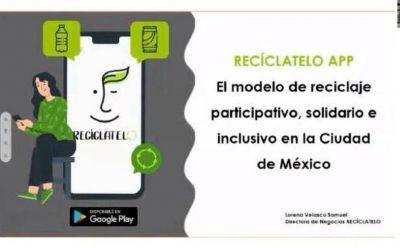 'Recíclatelo', la App creada para incentivar el reciclaje de residuos en la CdMx