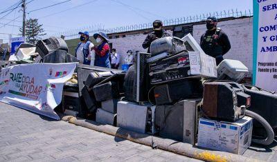 Arequipa: pagarán tratamiento médico de ocho niños con campaña de reciclaje