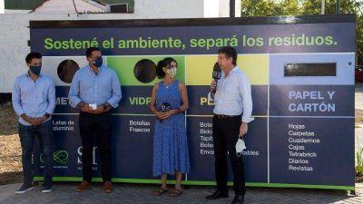 El Bajo de San Isidro ya tiene su ecopunto para el reciclaje de residuos