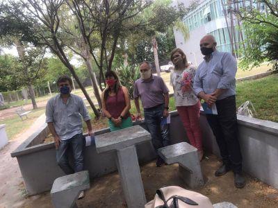 Concejales del FR en una jornada para asistir a víctimas del delito