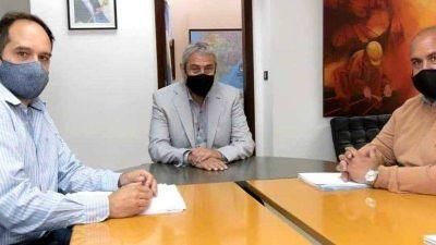Sanzio se reunió con Ferraresi para presentarle su Plan Integral de Hábitat
