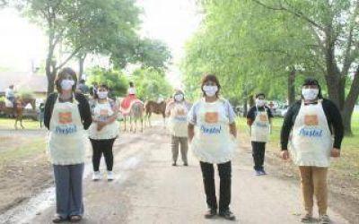 Carmen de Areco: Pese a restricciones sanitarias, se celebró la Fiesta Nacional del Pastel
