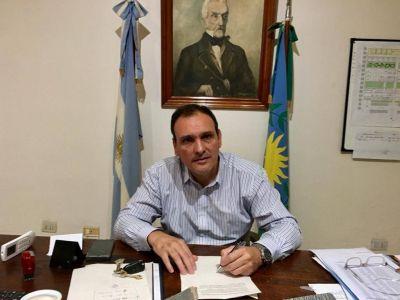 """Intendente Olaeta: """"Es imprescindible el apoyo económico de la provincia"""""""