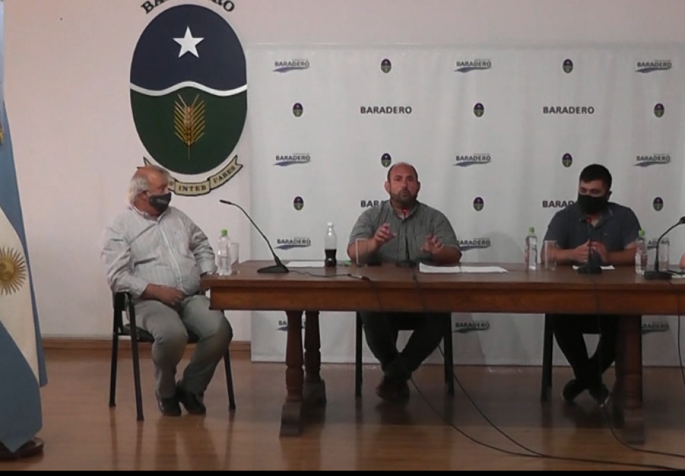 El intendente Esteban Sanzio presentó el Plan Estratégico Turístico de Baradero