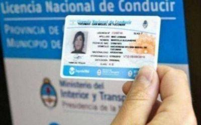 Nueva prórroga para las licencias de conducir en la Provincia