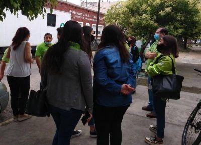 Trabajadores del SAME continúan la lucha para que se reconozca su labor