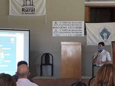 El municipio acompañó el 1er Foro de Desarrollo Económico Territorial