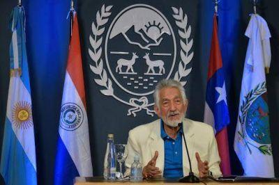 El gobernador realizó la apertura del 1º Encuentro Virtual Nacional e Internacional de Jueces de Paz
