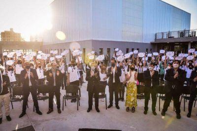 Escobar: Sujarchuk participó del acto de colación del colegio Cereijo