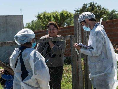 En los últimos siete días, volvieron a crecer los nuevos casos de COVID en Pilar