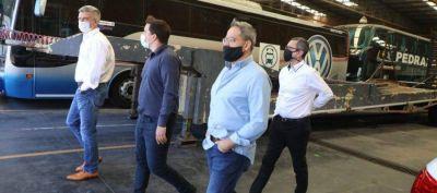 Avellaneda: El Intendente Alejo Chornoborff visitó la empresa Buswagen