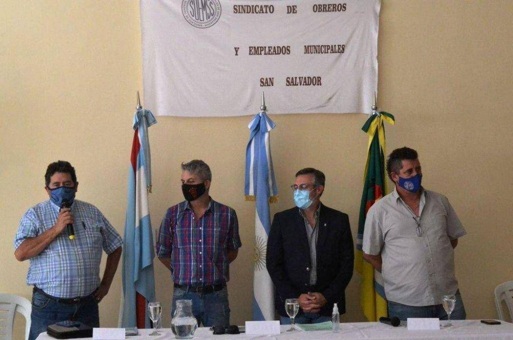 Trabajadores municipales deliberaron en San Salvador