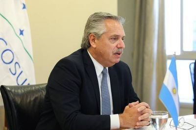 Alberto asumió la presidencia del Mercosur: