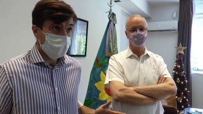Ghi y Gollán encabezaron la reunión del Consejo Regional de Salud para diagramar el operativo de vacunación