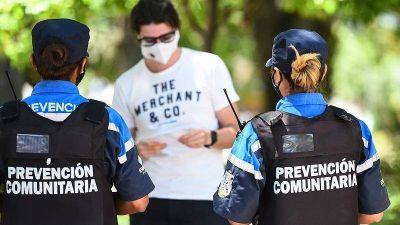 Escobar lanzó una fuerte campaña para evitar contagios masivos de coronavirus durante las fiestas