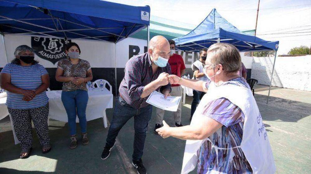 Referentes comunitarias fueron reconocidas por el Municipio de Almirante Brown