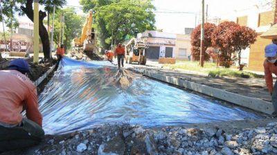 Avanza el Plan de 250 cuadras reparadas en Lanús