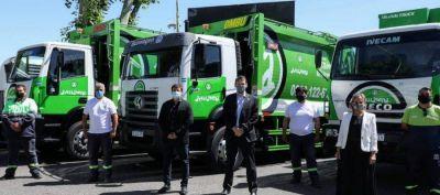 La Municipalidad de Avellaneda recibió móviles adquiridos mediante Provincia Leasing