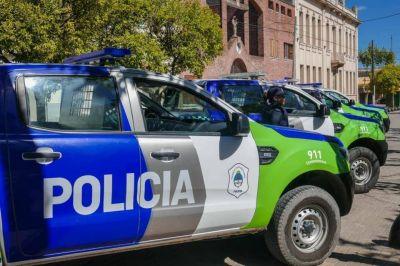 Diez nuevos patrulleros llegan a Cañuelas
