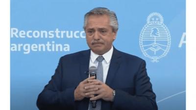 Alberto Fernández se emocionó hasta las lágrimas al hablar de las organizaciones sociales