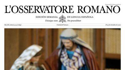 L'Osservatore Romano de esta semana:
