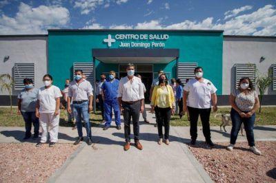 Capitanich inauguró la ampliación y refacción del Centro de Salud de Enrique Urien