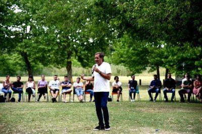 Garro participó del cierre de año de la Juventud PRO y destacó su rol durante la pandemia