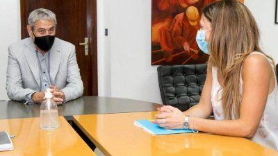 Viviendas en Córdoba: Ferraresi recibió a la ministra Laura jure