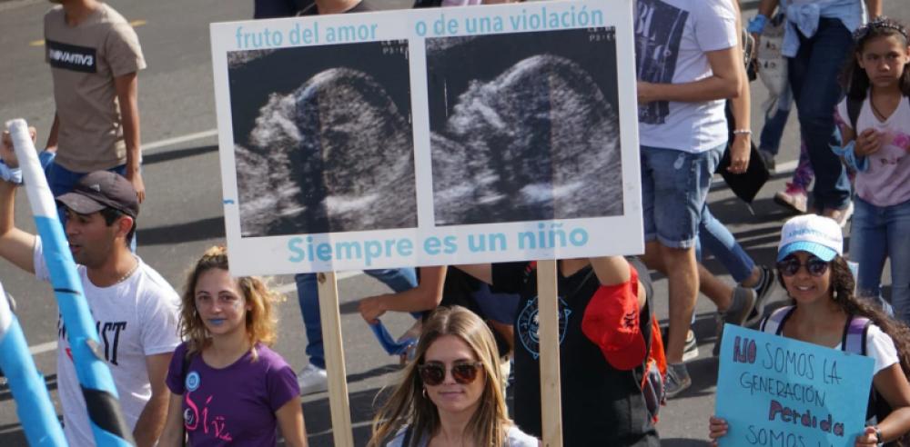 Aborto legal: Sectores celestes anticipan que irán a la Justicia si se aprueba el proyecto