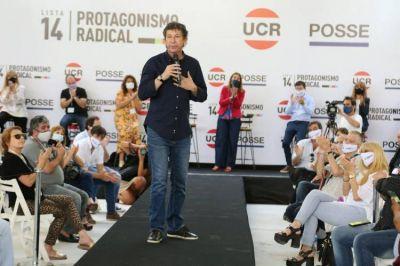 """Gustavo Posse: """"El radicalismo tiene que ser protagonista y no sólo entregarle la estructura al PRO"""""""