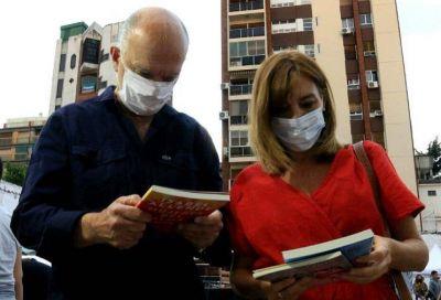 Grindetti participó de la presentación del libro