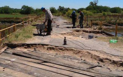 Avanza la reparación del Puente Mataderos