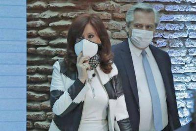 Cristina Kirchner, autoinmune a Alberto Fernández
