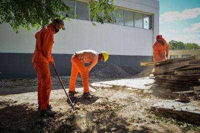 Escobar: Refaccionan tres primarias y en 2020 suman 36 las escuelas arregladas por el municipio