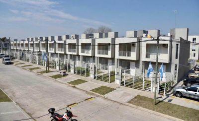 Entregaron la última tanda del año de las viviendas del plan Procrear en Castelar