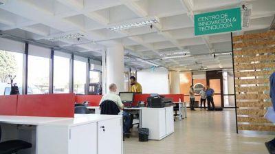 Grindetti inauguró las oficinas de innovación tecnológica