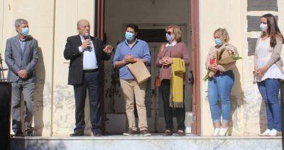 El intendente Paredi puso en funciones al Doctor Mauricio Pons como nuevo Secretario de Salud