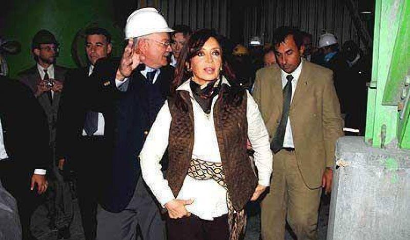 Cristina incluyó las obras que no realizó en el presupuesto de 2010