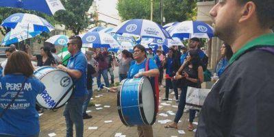 El SEC Capital, en estado de alerta y movilización por la negativa del Bapro a pagar un bono para trabajadores de Provincia NET